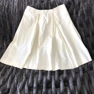 Elevenses Cream Colored Cotton Skirt